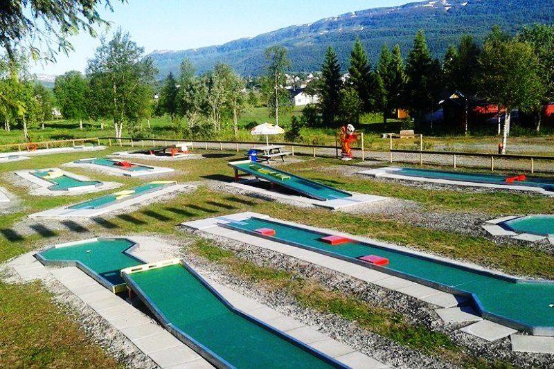 PlusCamp Ballangen Camping Minigolf