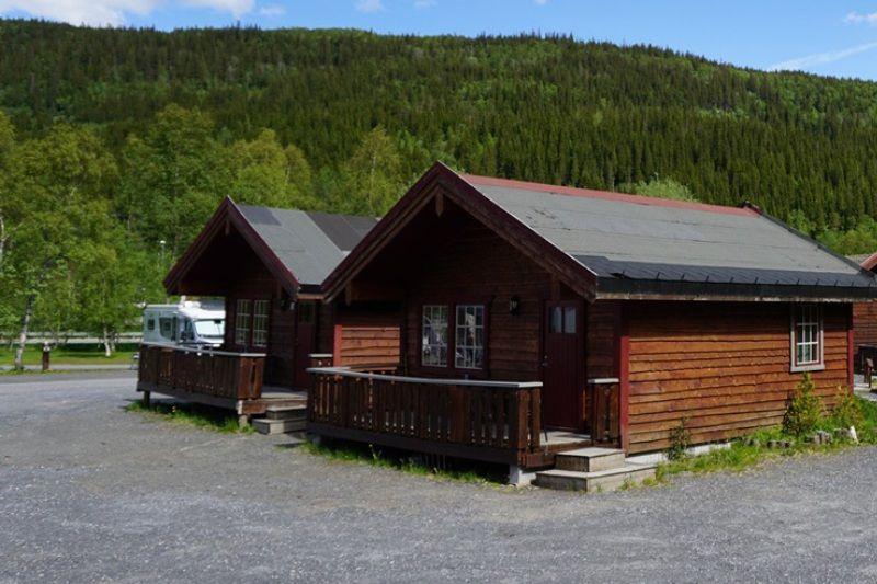 PlusCamp Mosjoen Camping grote hytter