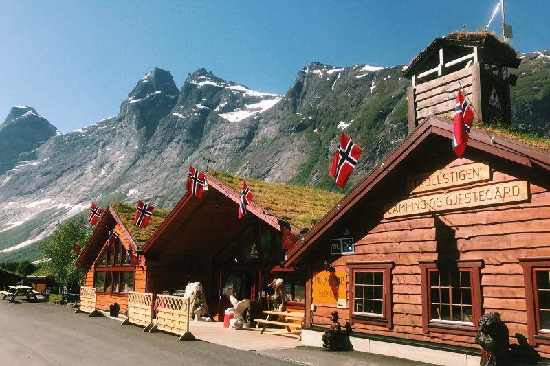 PlusCamp Trollstigen Camping og Gjestegard entree