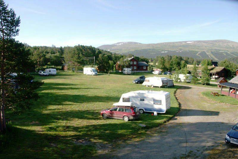 Roste Hyttetun og Camping uitzicht vanaf de camping