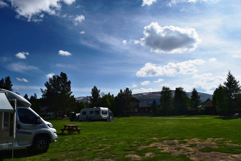 Roste Hyttetun & Camping ligging