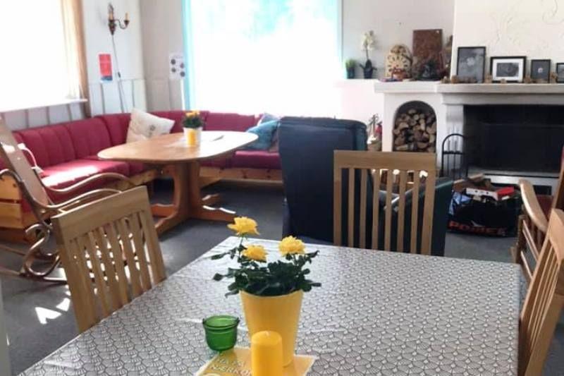 Saeterasen Hytter og Camping Trysil gezellige loungeruimte