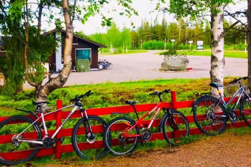 Saeterasen Hytter og Camping Trysil fietsen
