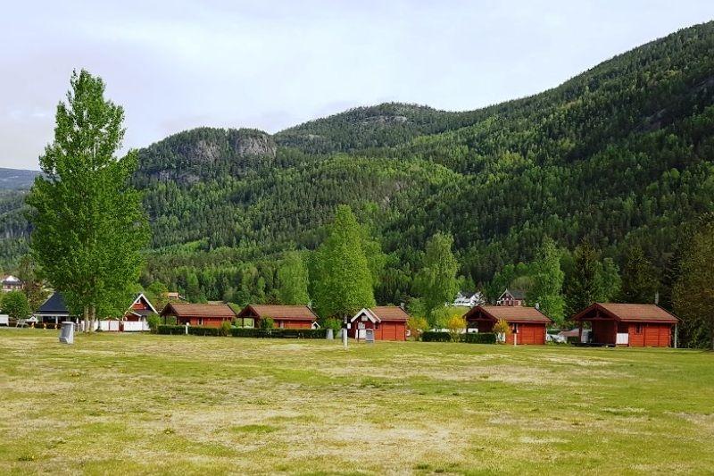 Sanda Camping og Hytteutleie vakantiehuisjes
