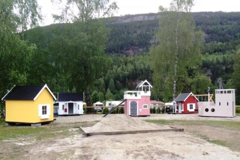 Sanda Camping og Hytteutleie speeltuin