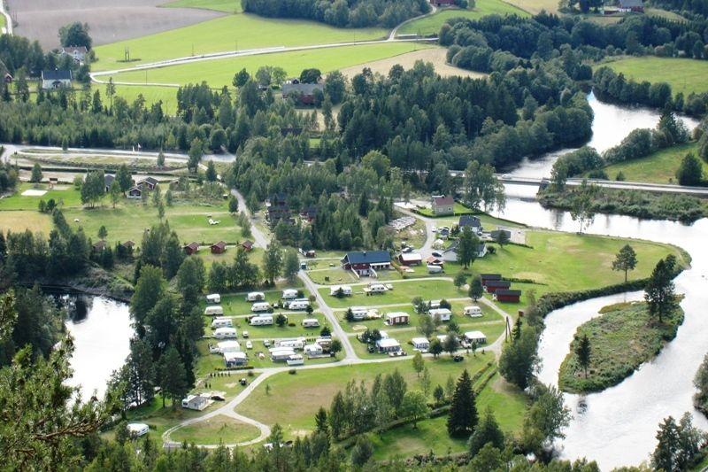 Sanda Camping og Hytteutleie Ligging
