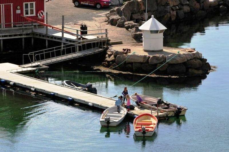 Sandvika Fjord og Sjohus Camping vissen