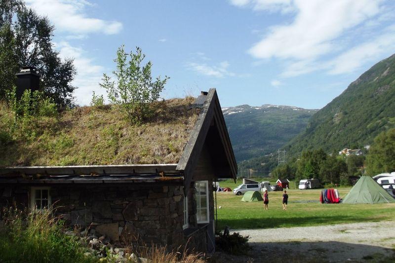 Seim Camping Roldal hytter met mooi uitzicht