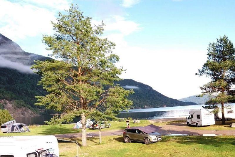 Seljord Camping kampeerplaatsen