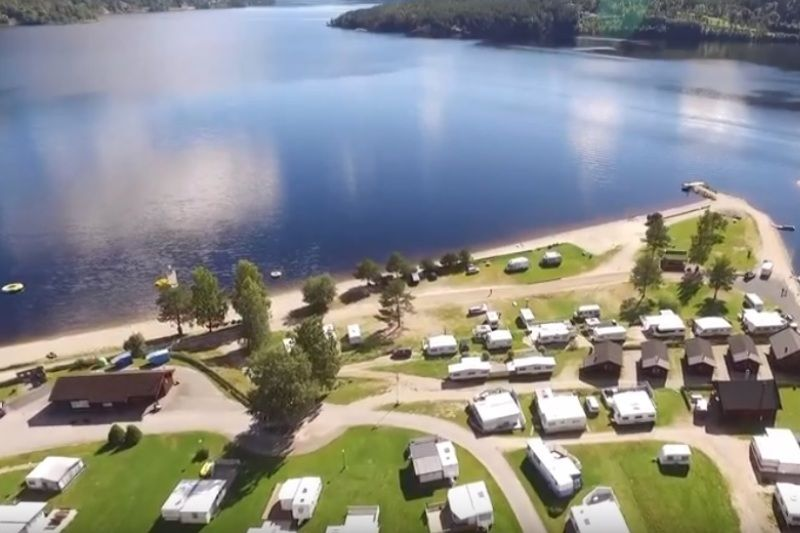 Seljord Camping Luchtfoto