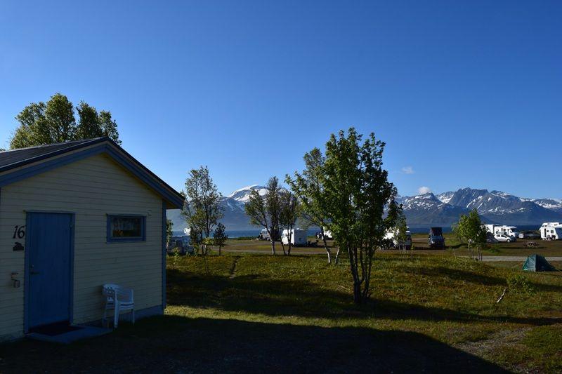 Skittenelv Camping Hytter en kampeerplaatsen