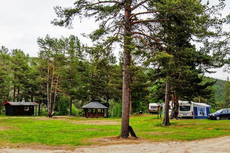Solhaug Camping Sollia ligging