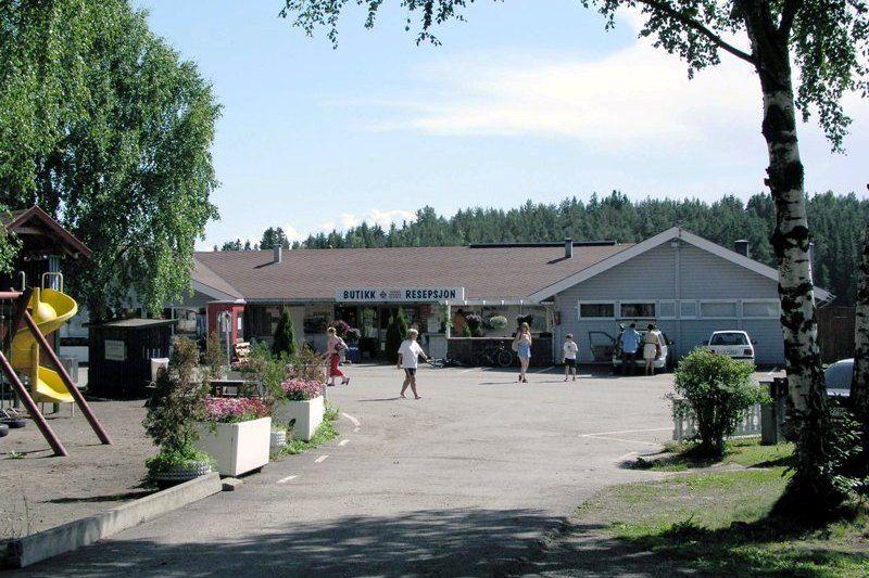Steinvik Camping aankomst
