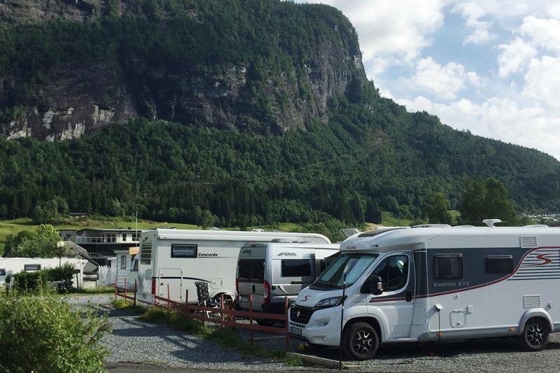 Stryn Camping Kampeerplaatsen