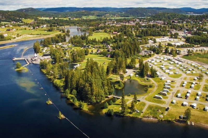 Telemark Kanalcamping ligging