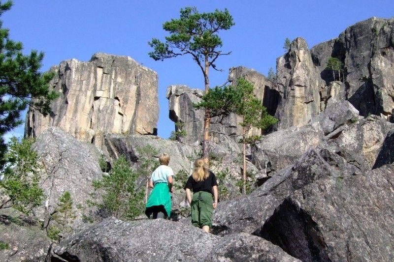Telemark Kanalcamping wandelen
