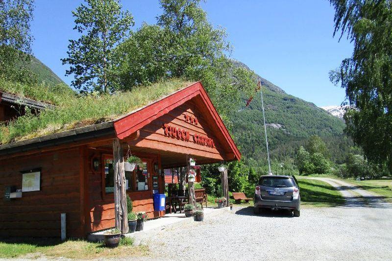 Tjugen Camping receptie