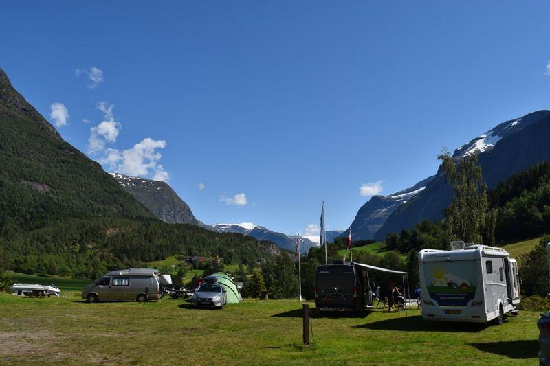 Tjugen Camping Kampeerplaatsen