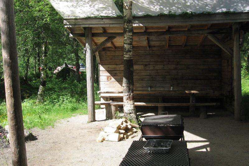 Trollveggen Camping grillplek