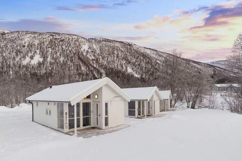 Tromso Lodge og Camping wintersport hytter