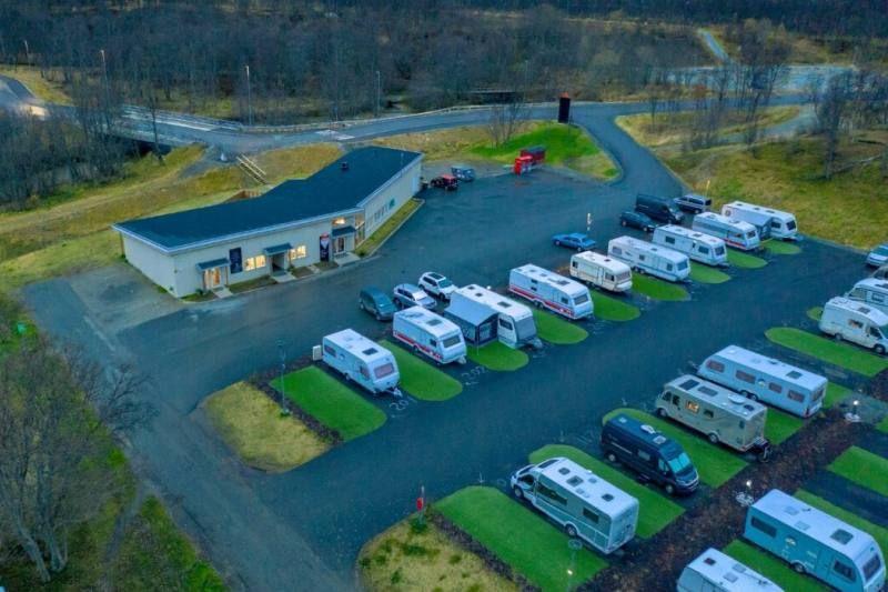 Tromso Lodge og Camping kampeerplaatsen