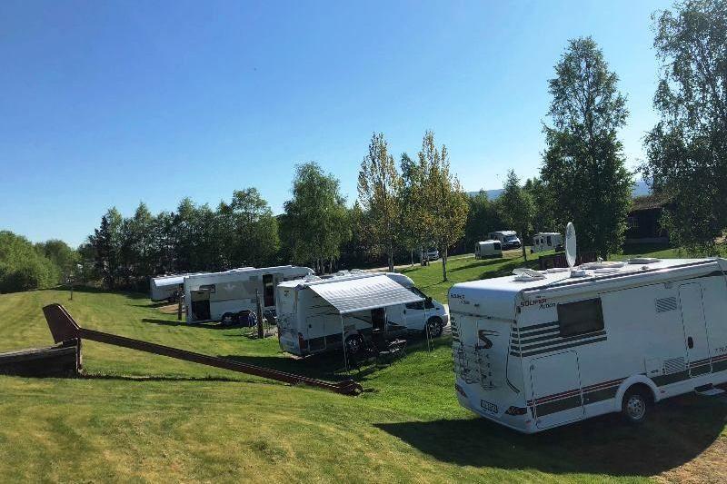 Tynset Rom og Camping Kampeerplaatsen