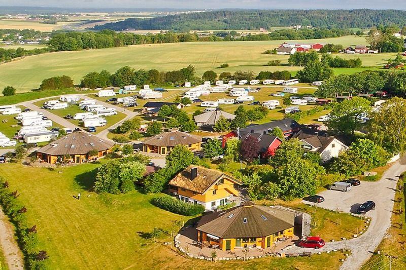 Utne Camping Sarpsborg ligging
