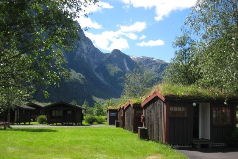 Vang Camping Gudvangen Hytter