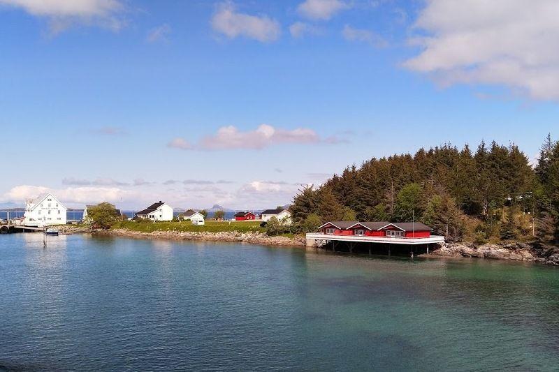 Vennesund Camping ligging