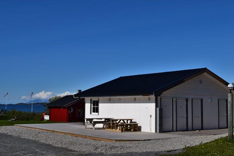 Vennesund Camping nieuw sanitairgebouw