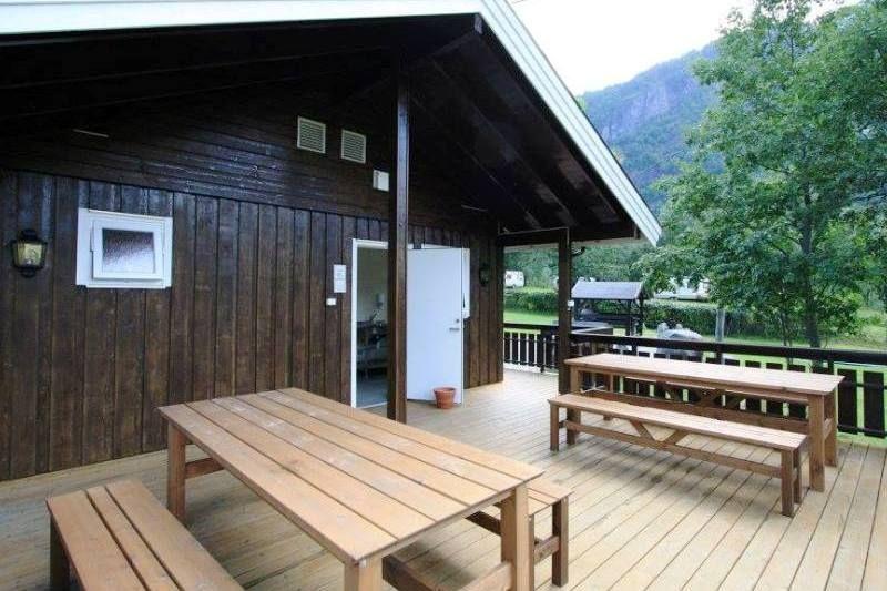 Vinje Camping Geiranger sanitaire voorzieningen